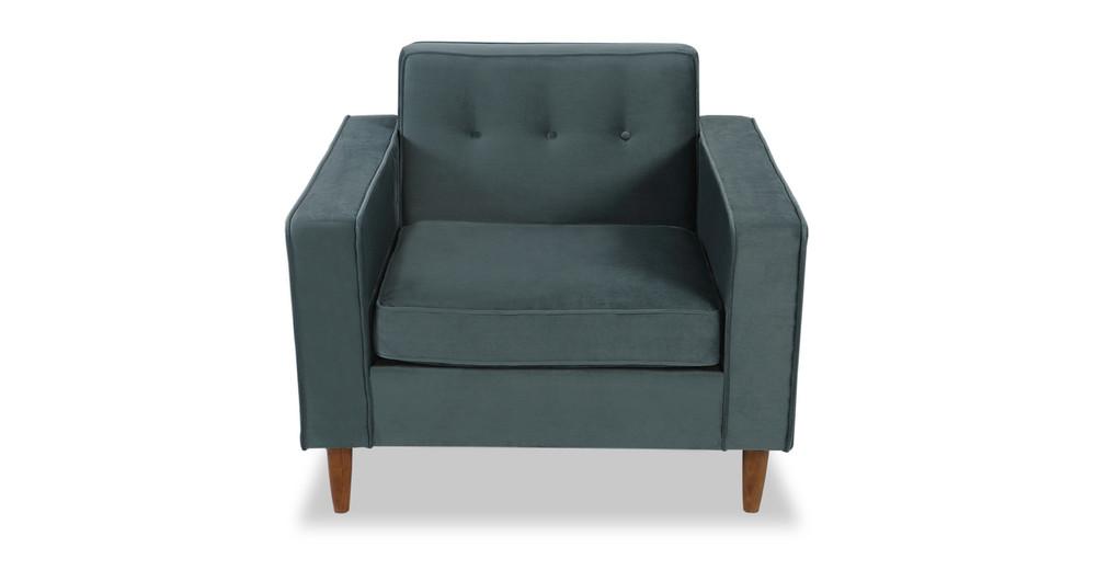Eleanor Chair, Neptune Velvet