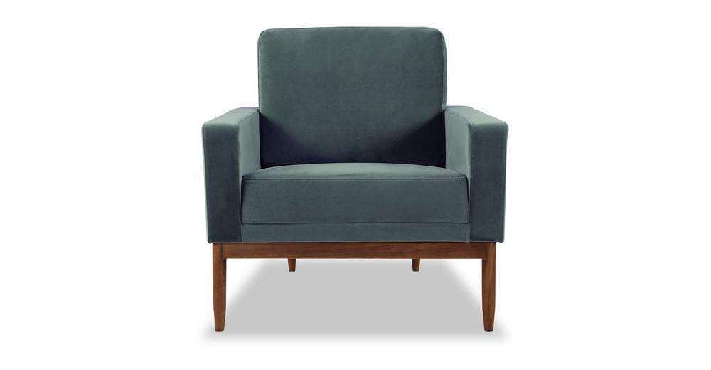 Stilt Danish Mod Chair, Neptune/Walnut