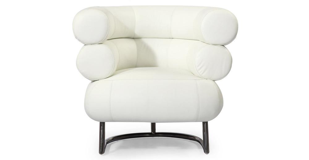 white bibendum chair