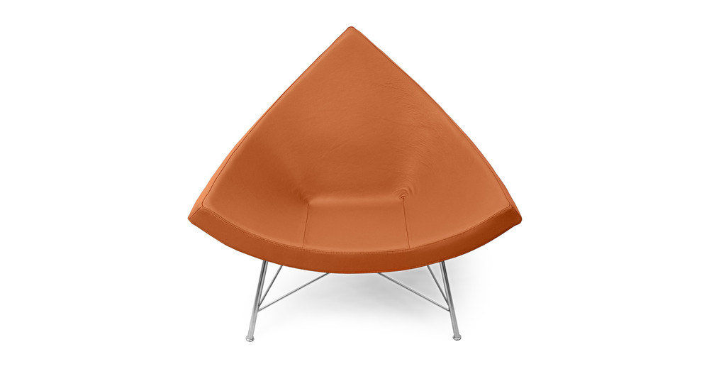 Coconut Chair, Luxe Camel Leather