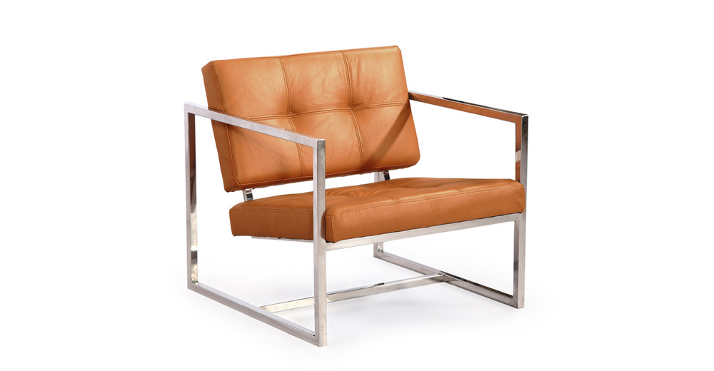 Cube Chair, Canyon Premium Leather