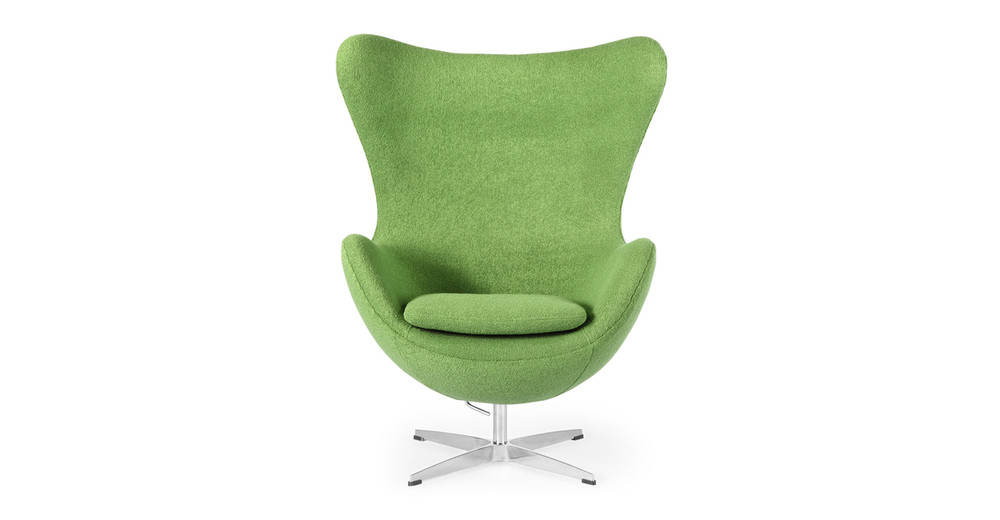 Amoeba Chair, Apple Green