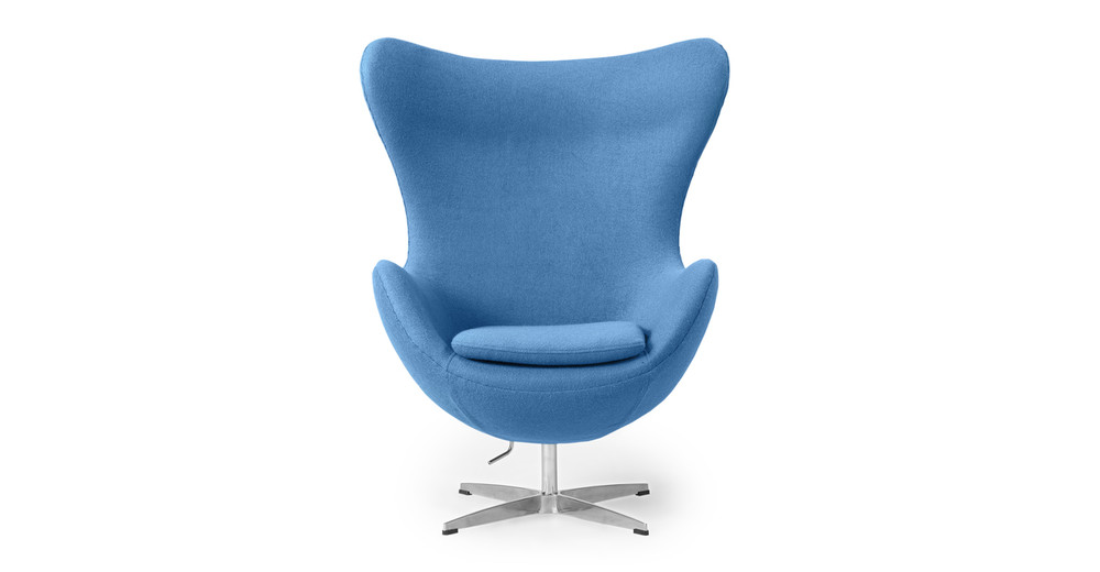 Amoeba Chair, Baby Blue