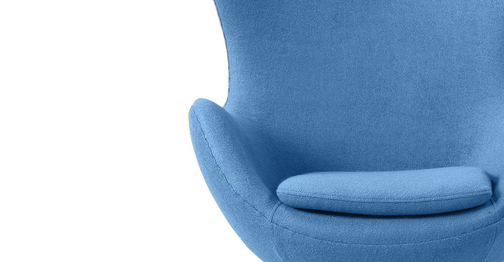 ... Amoeba Chair, Baby Blue ...