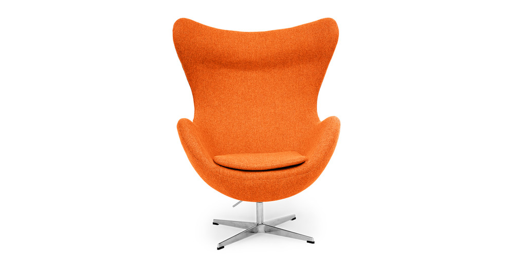 Amoeba Chair, Cinnabar
