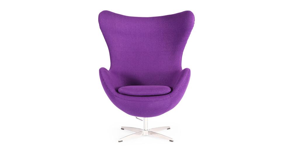 Amoeba Chair, Purple
