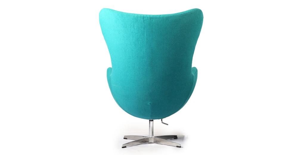 Amoeba Chair Turquoise Kardiel
