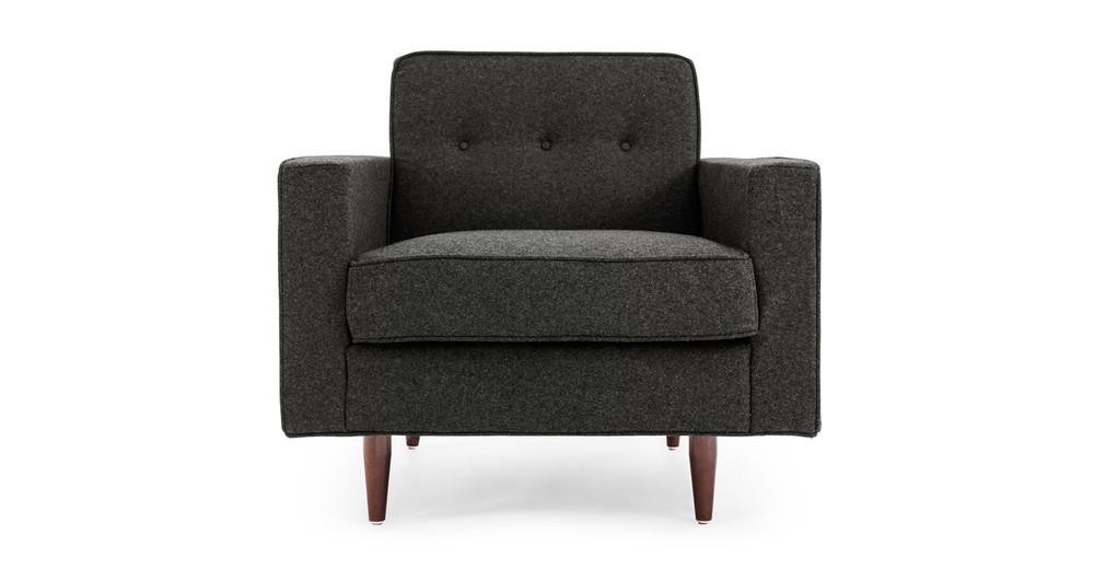 Eleanor Chair, Charcoal