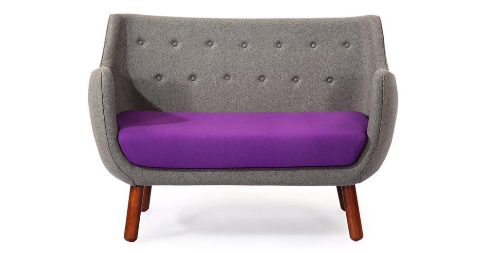 Kardiel parlor modernist sofa