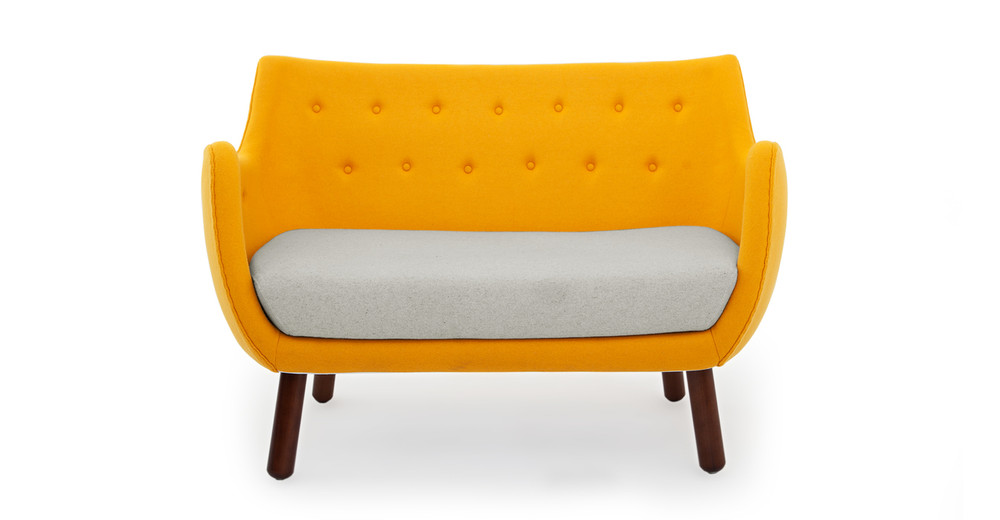 1946 Parlor Sofa, Sunrise/Heather