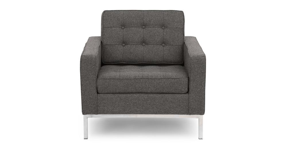 Florence Chair,  Cadet Grey