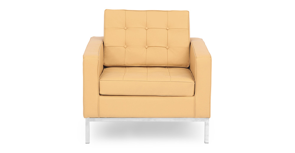Florence Chair, Oxford Fawn Leather