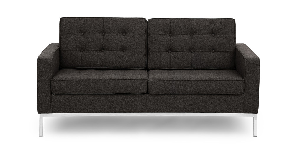 Florence Loveseat, Charcoal