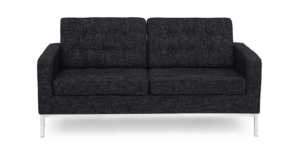 Florence Loveseat, Graphite