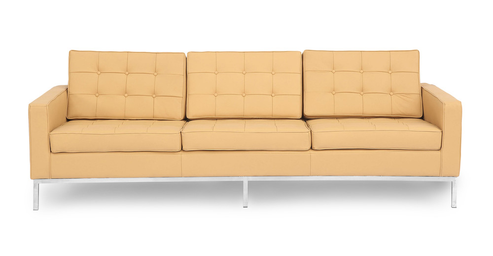 Florence Sofa, Oxford Fawn Leather