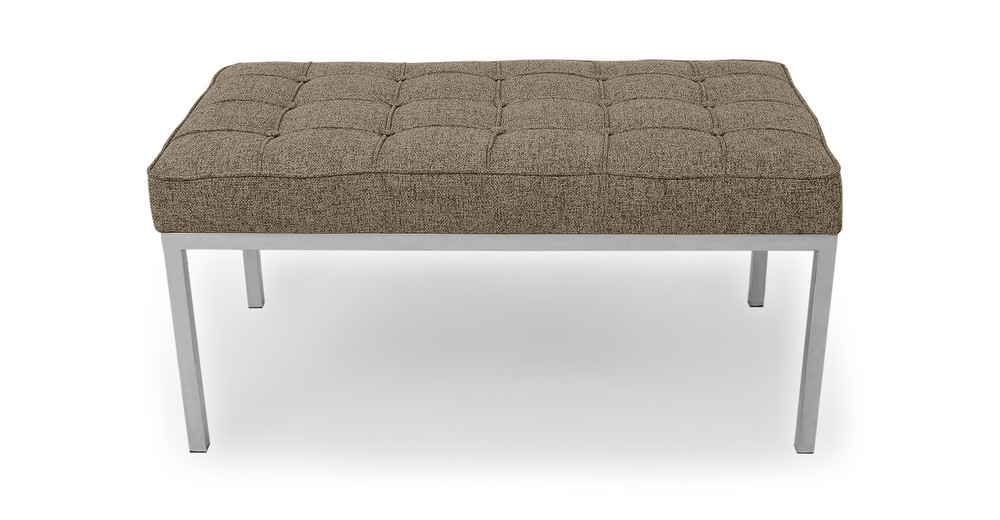 Florence Bench 2 Seat, Oatmeal