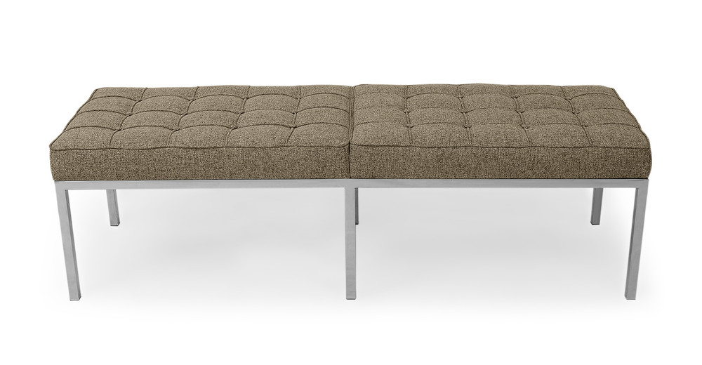 Florence Bench 3 Seat, Oatmeal