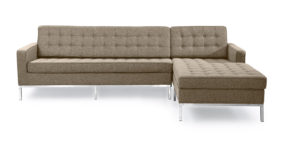 Florence Right Sectional, Oatmeal