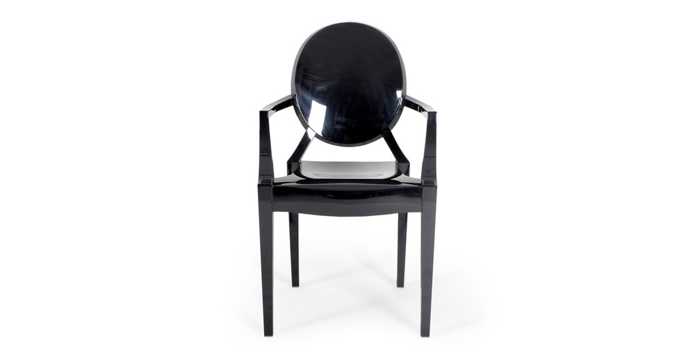 Phillip Arm Chair, Black