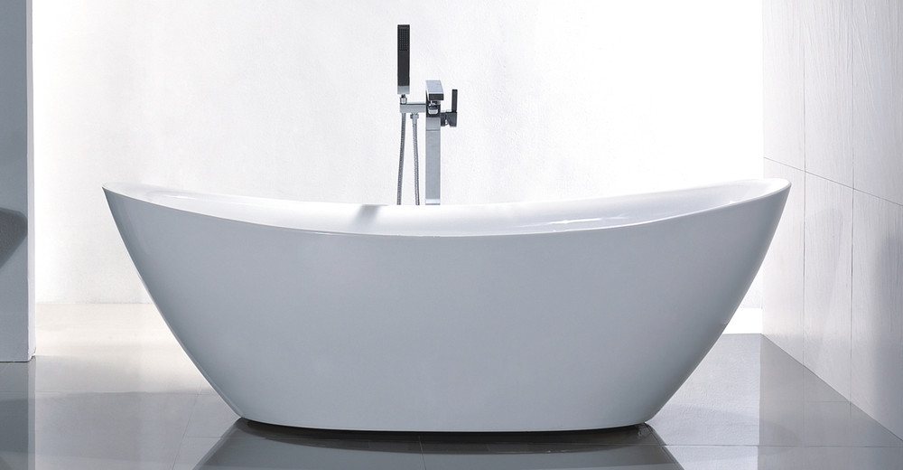 Tholos by Helixbath is a Classic Modern Soaker Bath Tub