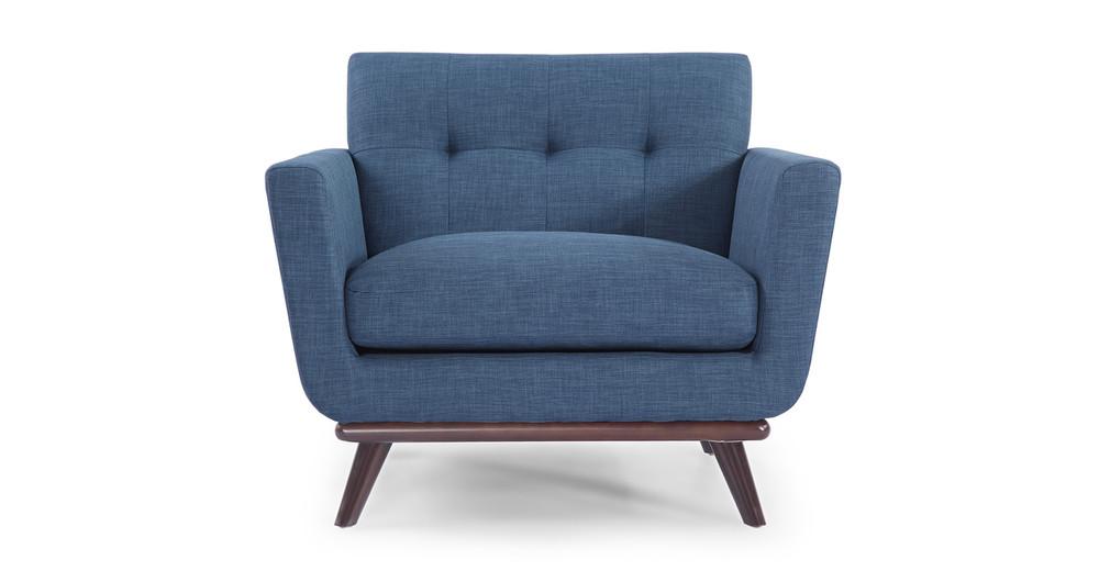 Jackie Chair, Blue Curacao