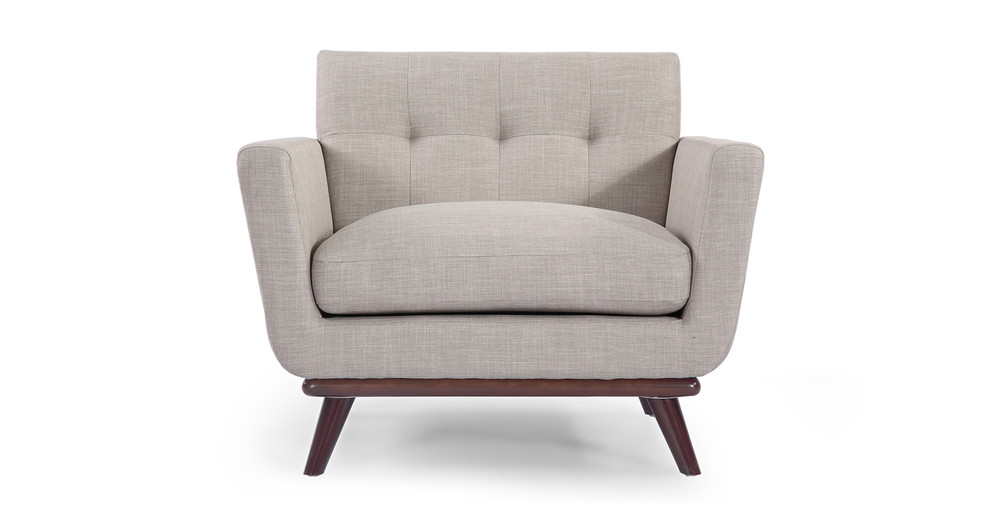Jackie Chair, Dove Grey