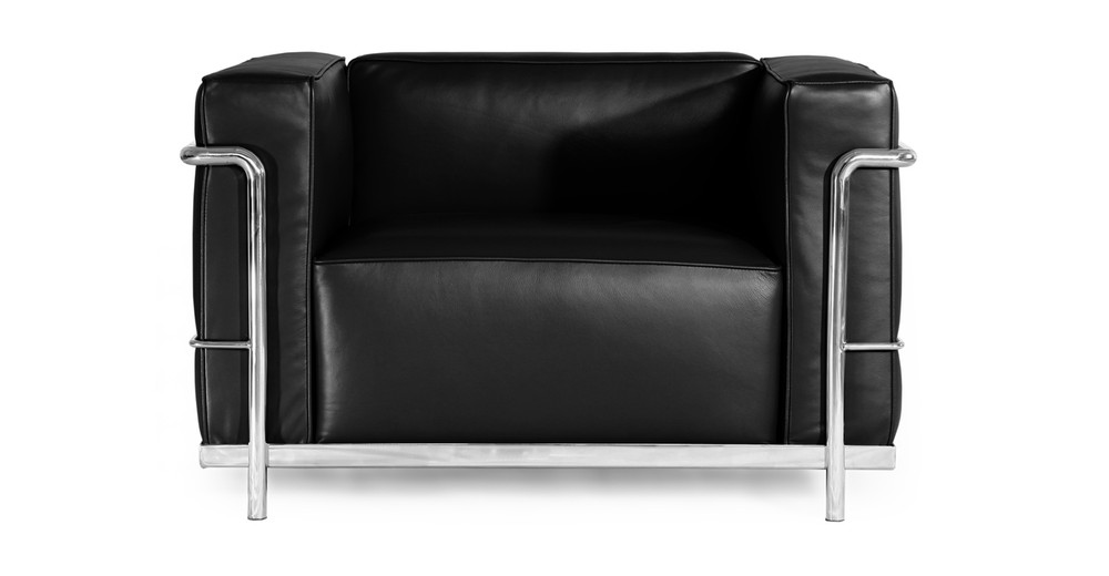 Roche Chair, Black Premium Leather