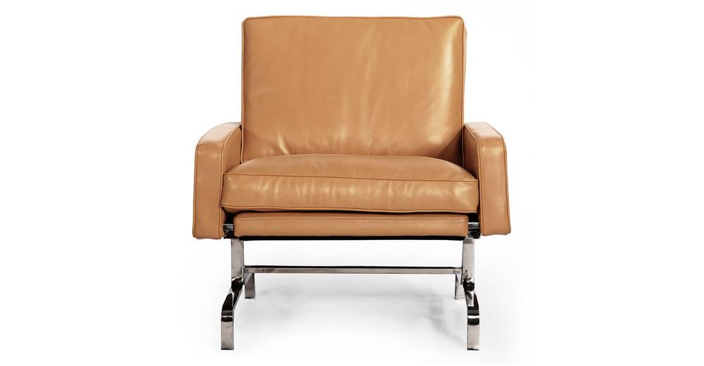 PK31 Chair, Canyon Premium Leather