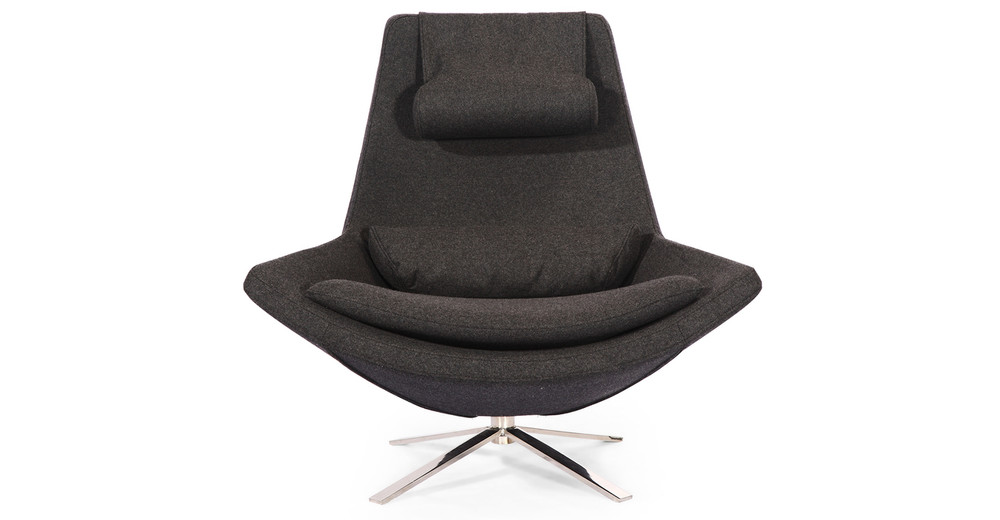 Retropolitan Chair, Charcoal