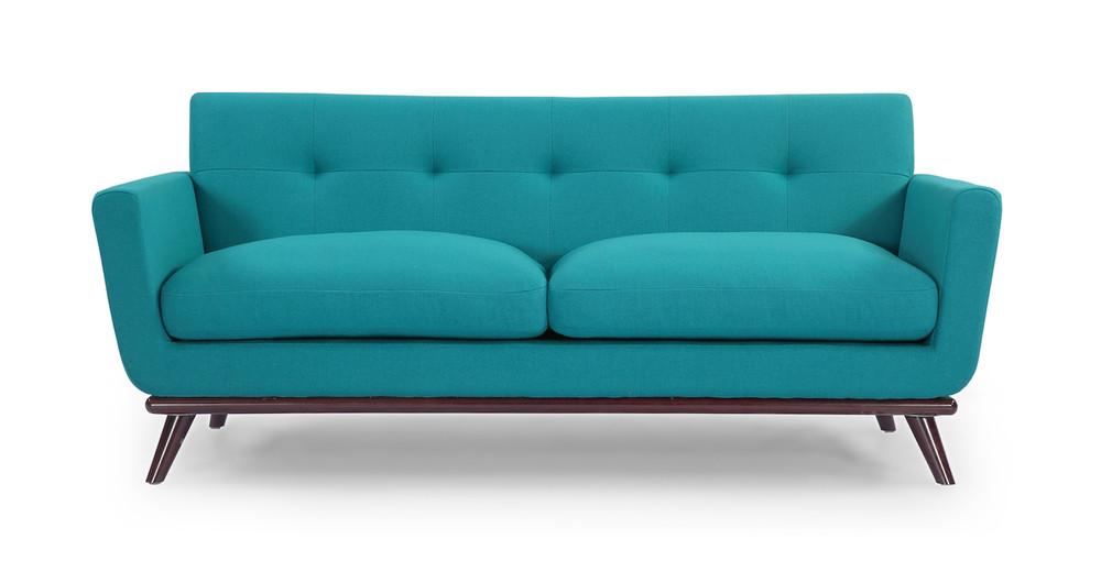Jackie Loveseat, Turquoise