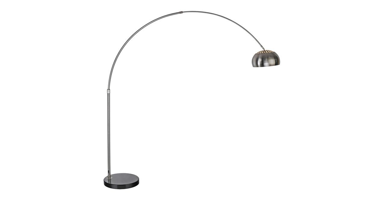 Arco Floor Lamp, Black Marble Round - Kardiel for Original Arco Lamp  173lyp