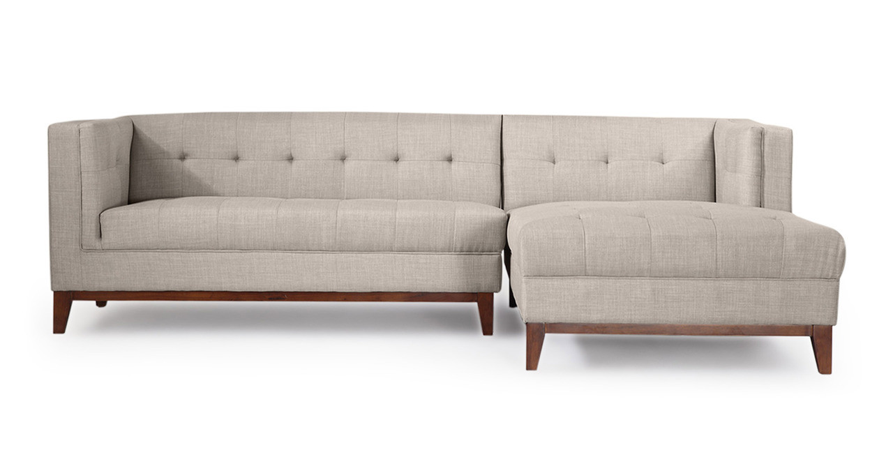 Harrison Chaise Sectional Right Face, Dove Grey Ideas