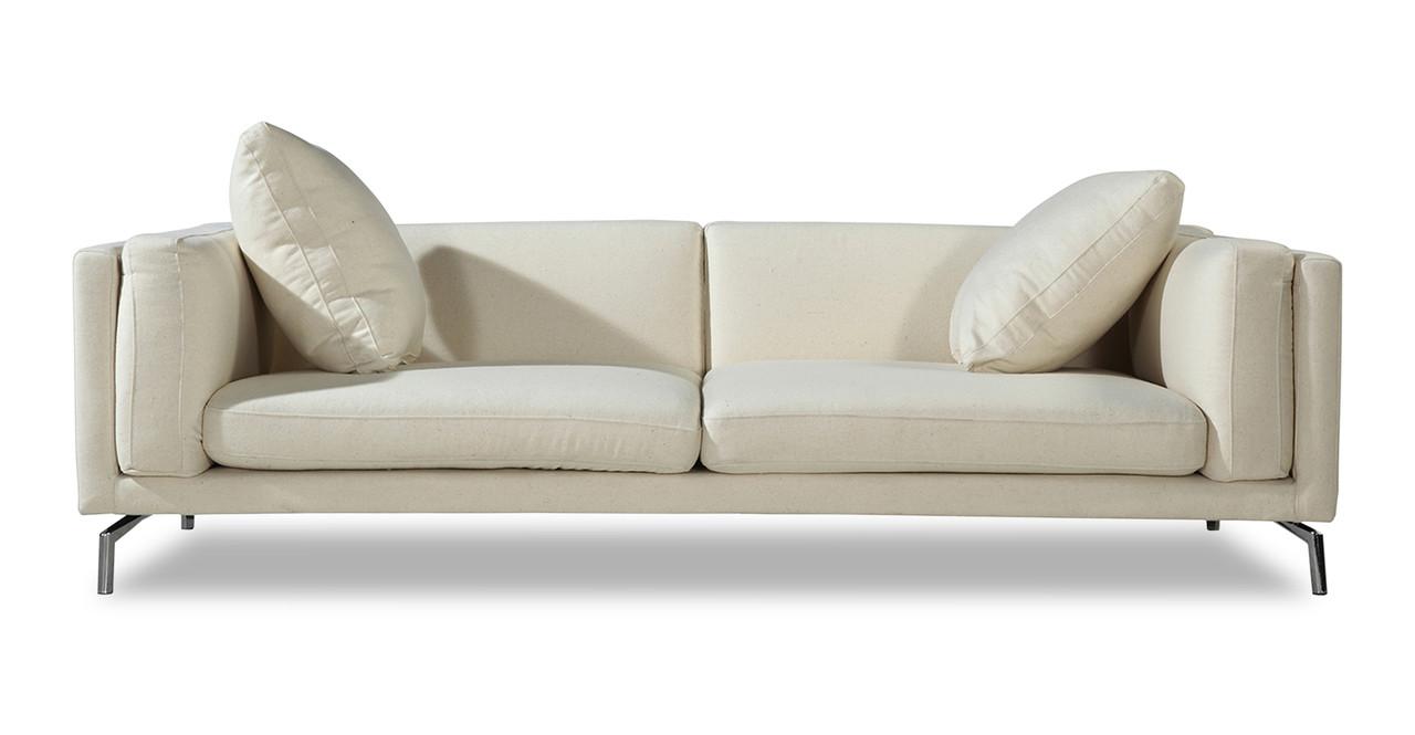 Sofa Loft basil loft sofa white peacoat kardiel