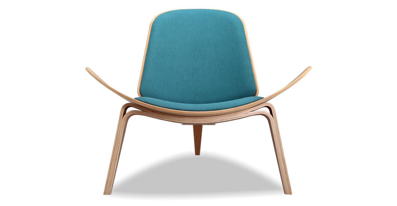 Tripod Chair, Urban Surf/Oak - Kardiel
