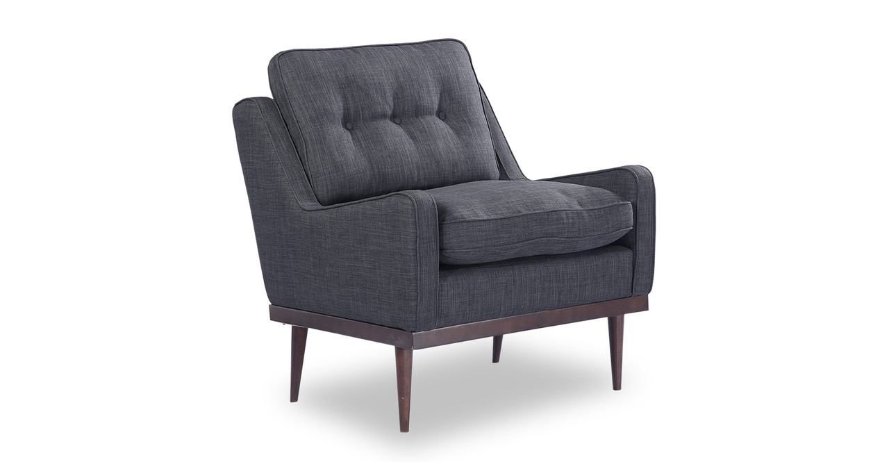 Elektra Armchair, Midnight Oil Twill