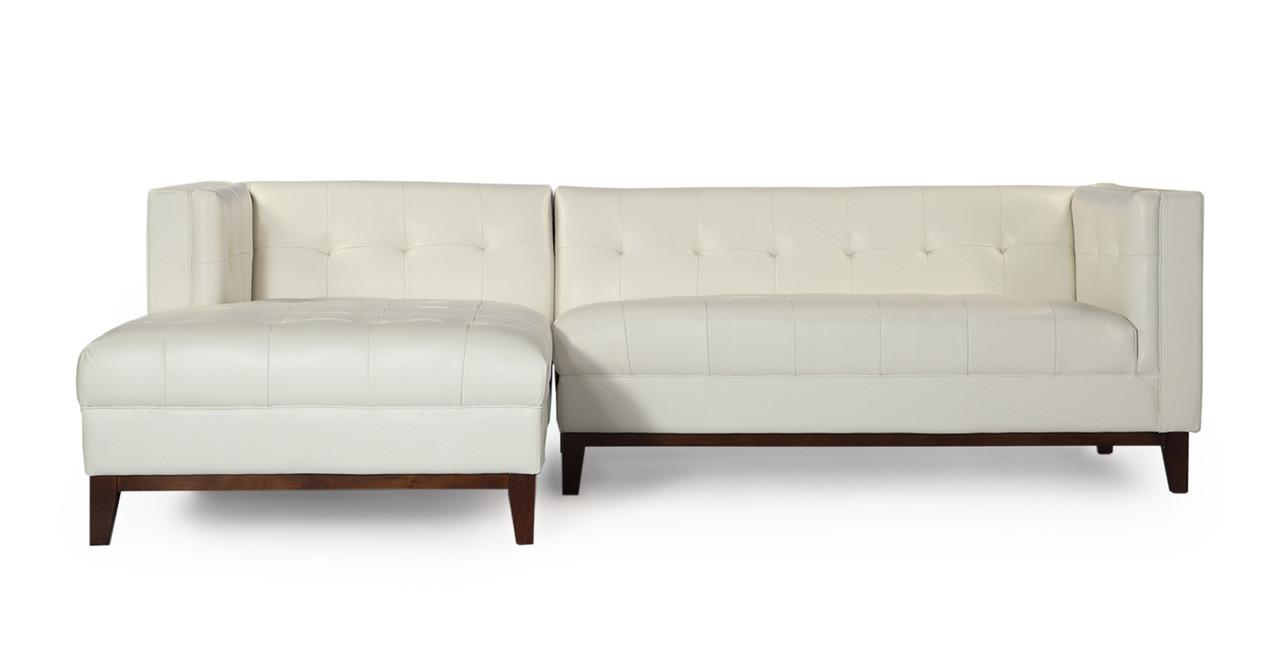 leather modular hd sectional chaise neva