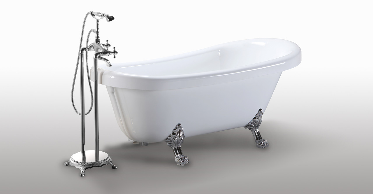 Delos Clawfoot Bathtub 67\