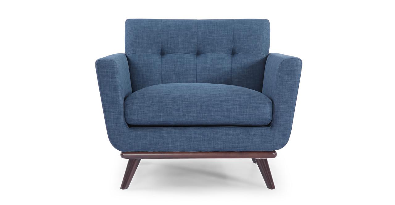 Jackie Chair, Blue Curacao - Kardiel
