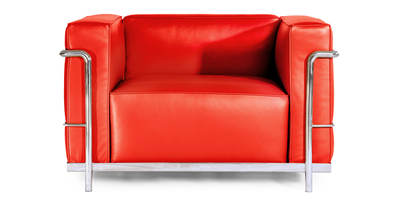 Roche Chair, Red Premium Leather