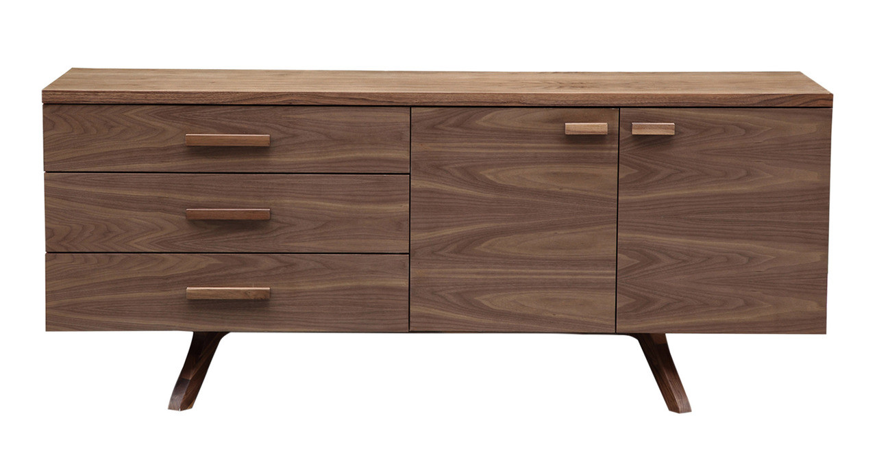 Charles credenza mid century modern sideboard Charles