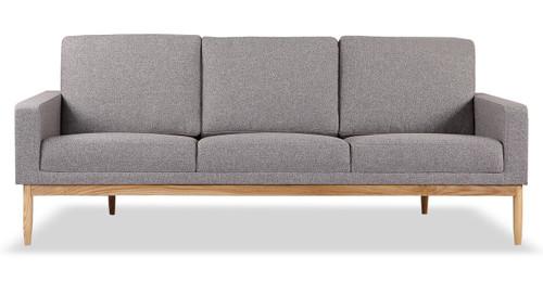 Charmant Stilt Danish Mod Sofa, Urban Pebble/Ash