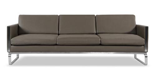 mid century modern leather sofas loft modern leather couch loveseat rh kardiel com modern sofa leather seat height 18 inches modern sofas leather