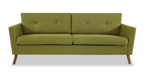 Articulate Modern Sofa, Atomic Moss