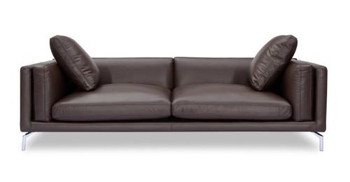 Basil Loft Sofa, Bolivarian Aniline Leather