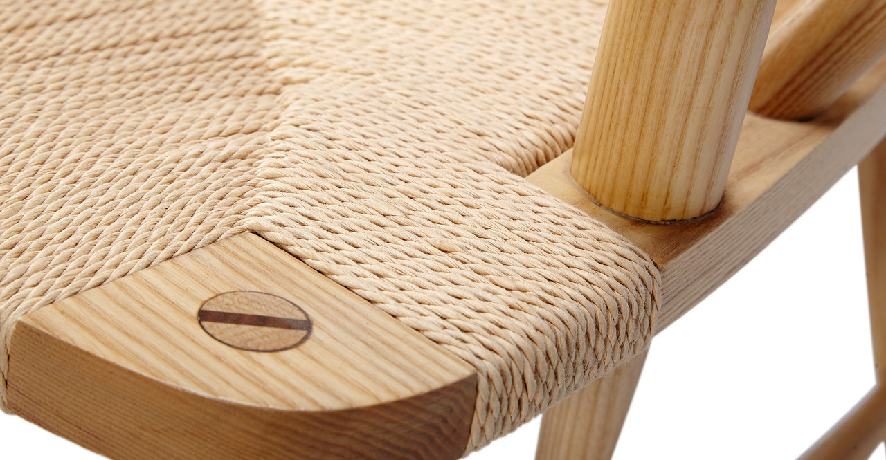 peacock ash chair