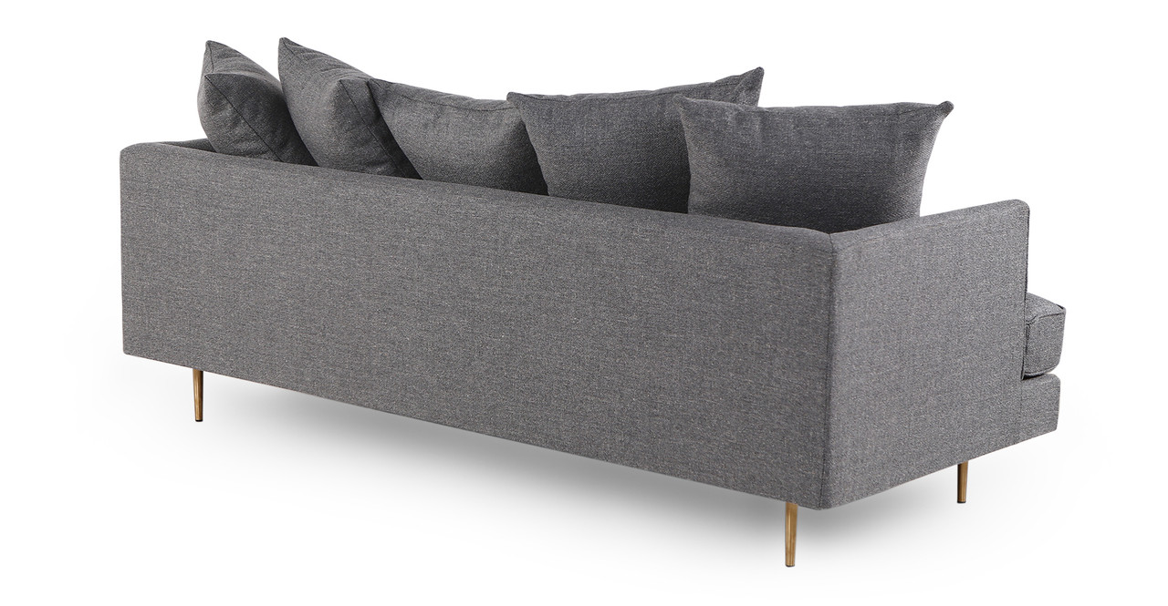 holly modern twill sofa