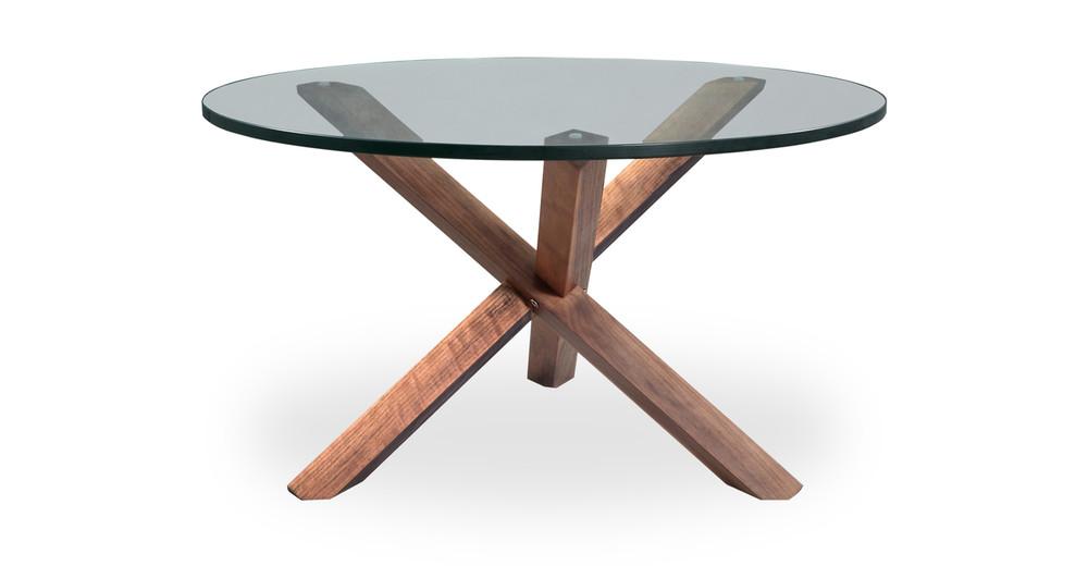 Superb Tripod Coffee Table Walnut ...