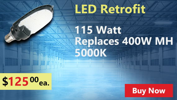 Retrofit LED - Replaces 400 MH