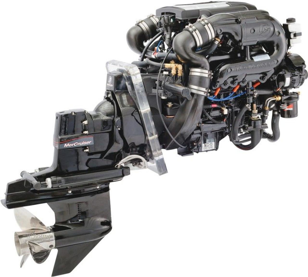 mercruiser stern drive engine factory service manual 4 mcm 120 260 rh repairmanuals4u com Mercruiser Marine Engines Mercruiser Sterndrive Resivoir