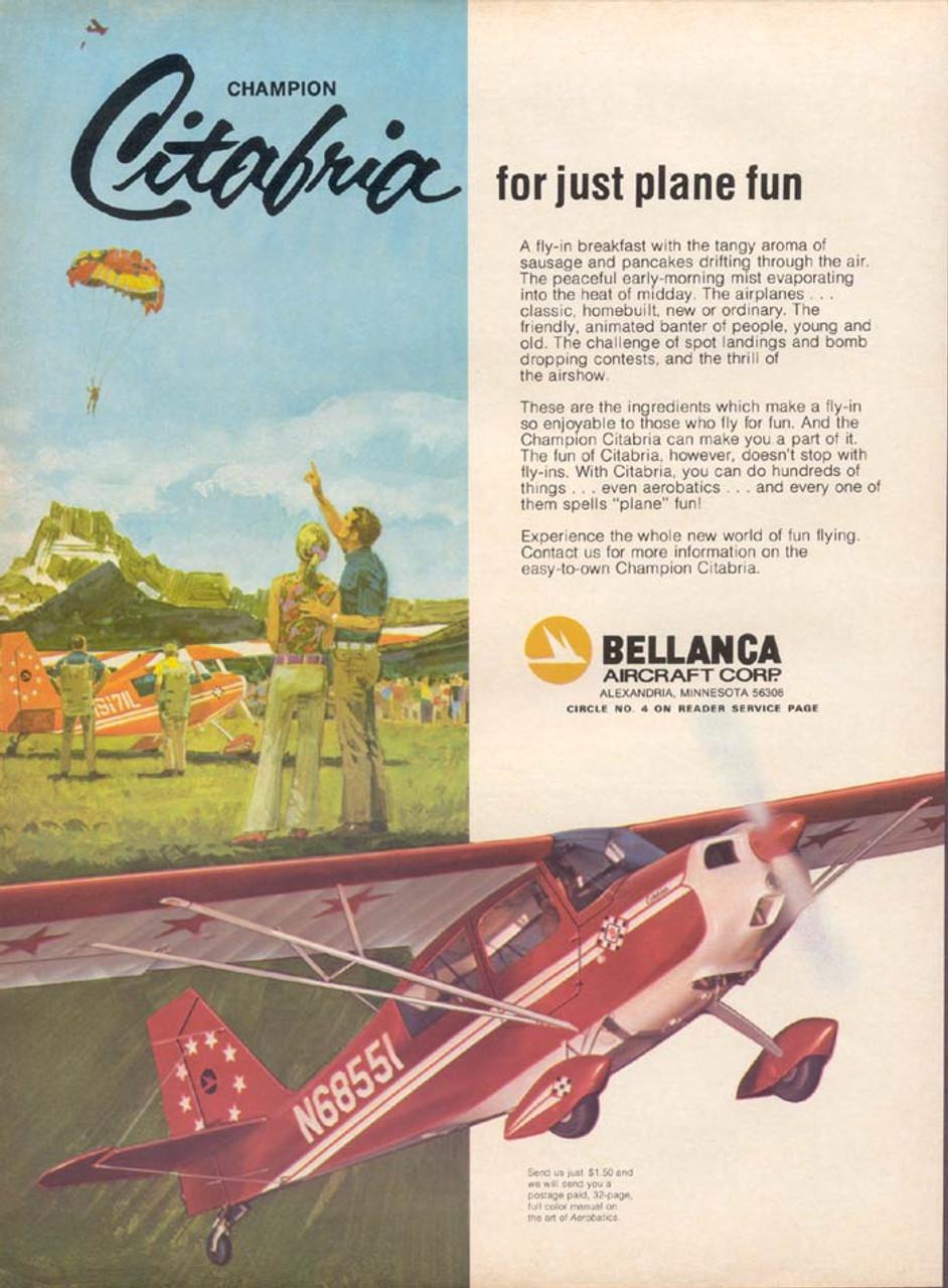 bellanca citabria service maintenance service pilot manuals n aerobatic rh repairmanuals4u com